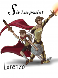 The Lost Tale of Sir Larpsalot by David M. Williams--Review 4